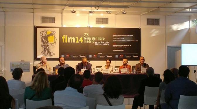 Acto en la Feria del Libro de Madrid 2014