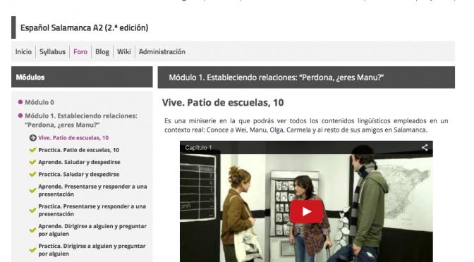 Se prepara la tercera edición de «Español Salamanca A2»