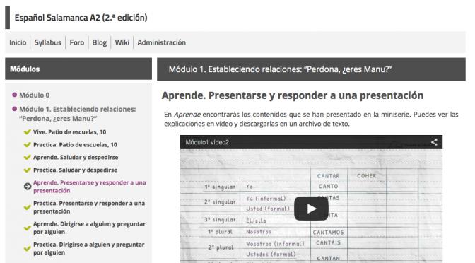 El MOOC Español Salamanca A2 regresa el 5 de mayo