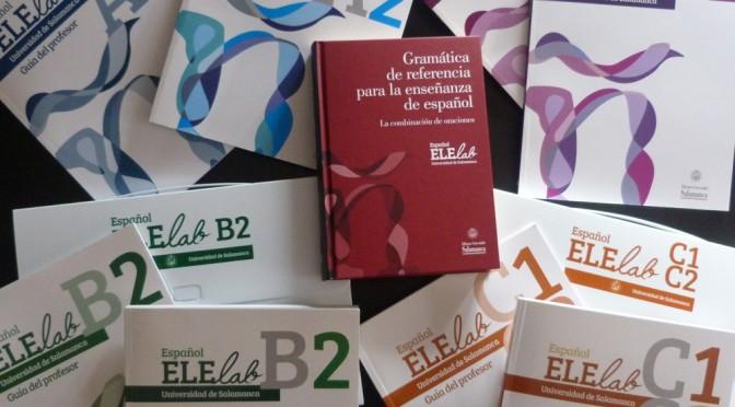 Ya disponibles los libros ELElab de enseñanza de español