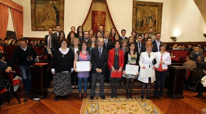 Acto de entrega de los premios extraordinarios de doctorado (USAL)