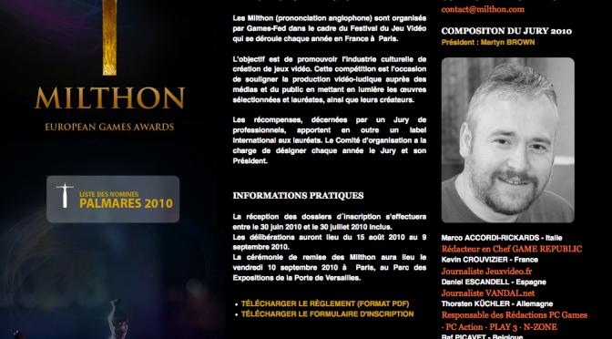 Premios Milthon 2010
