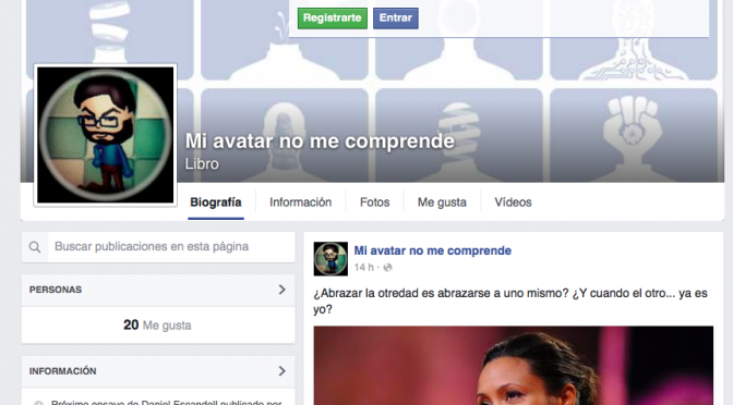 Mi avatar no me comprende (en Facebook)
