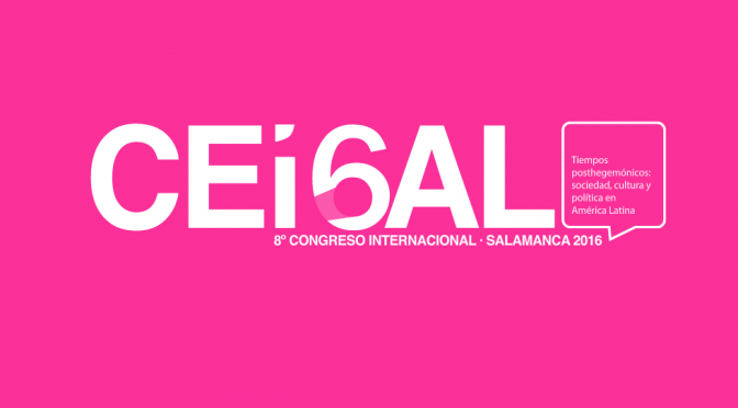 CEISAL 2016: Interfaces subjetivas