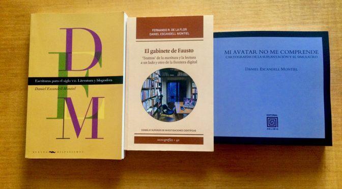 El trío de libros de investigación