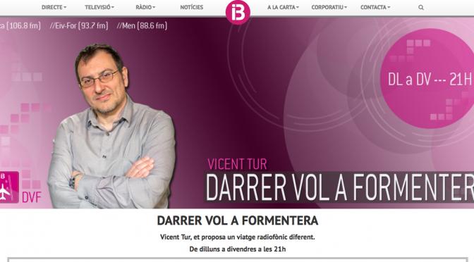 Entrevista en IB3Ràdio