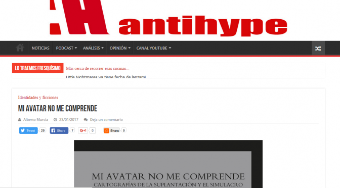 Mi avatar no me comprende en Antihype