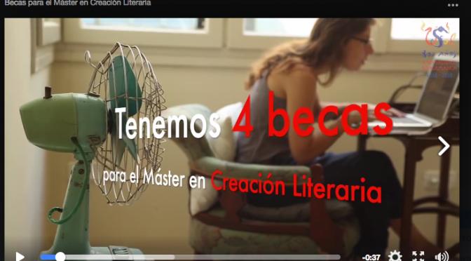 Becas en el Máster en Creación Literaria de la Universidad de Salamanca
