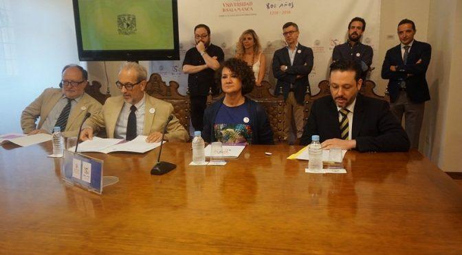 Presentación de las actividades para la FILUNI, la Feria Internacional del Libro Universitario de la UNAM