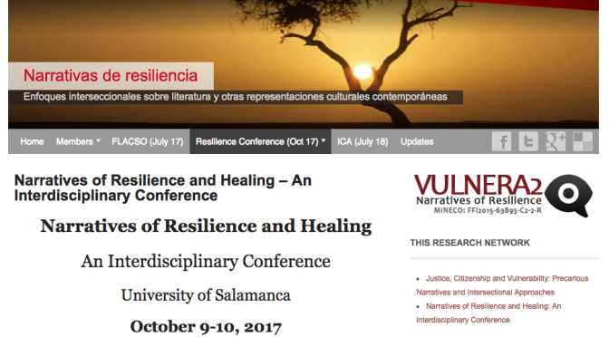 Narratives of Resilience and Healing: An Interdisciplinary Conference