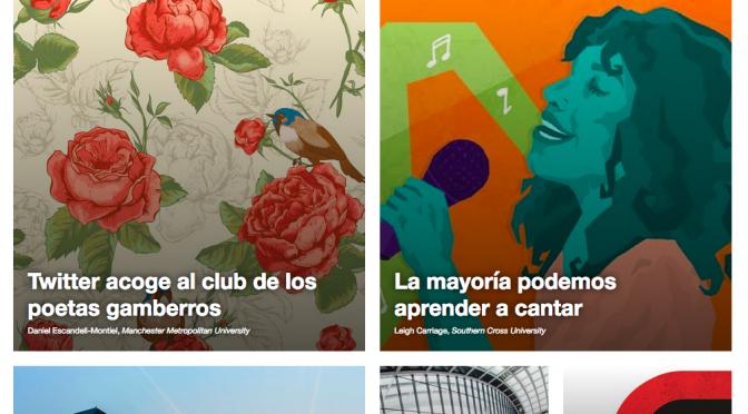 Twitter acoge al club de los poetas gamberros