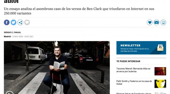 El poema viral llega a El País