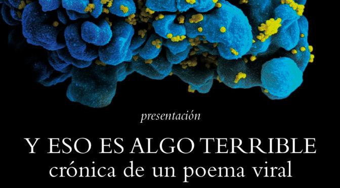 Presentación de 'Y eso es algo terrible. Crónica de un poema viral' en Ibiza